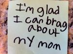 brag about Mom