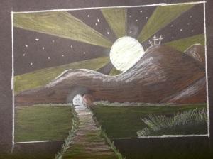 3 crosses by Nicole Avereyn