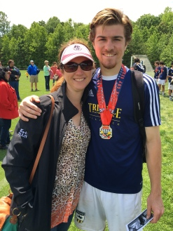 U-19 State Cup championship with Casey, now a junior at NGU.